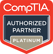 The Learning People are a platinum level authorised partner of CompTIA