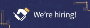 Learning People - We're hiring! banner advert