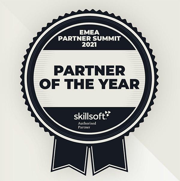 Skillsoft partner of the year